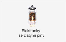 Elektronky se zlatými piny