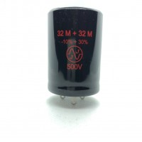 TC 529 32+32uF/500V